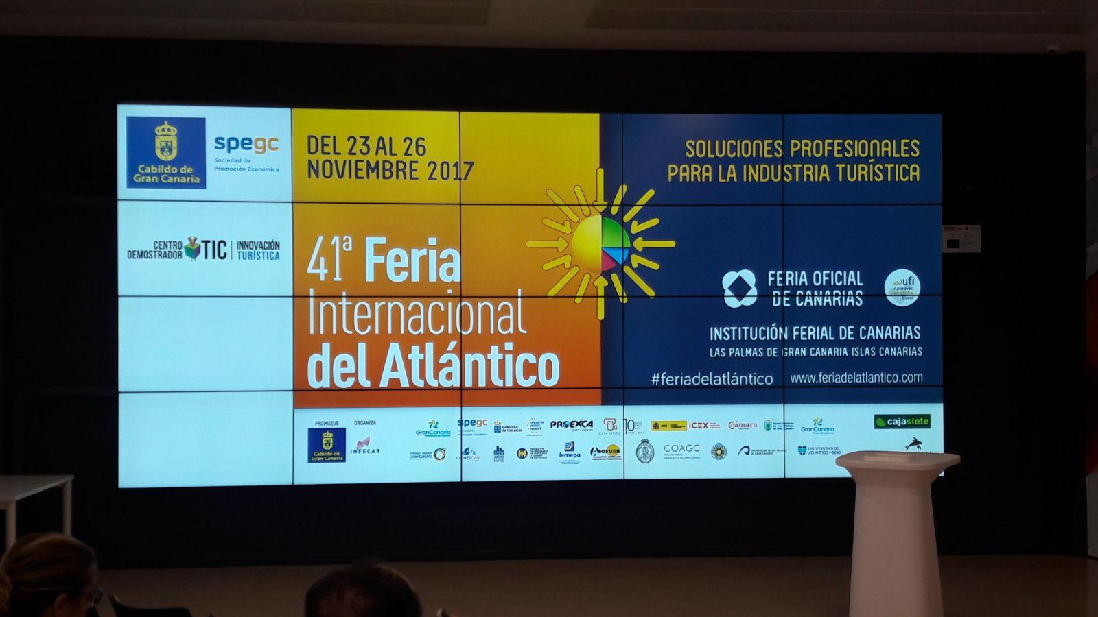 CICOM TUoperador presente en la 41ª Feria Internacional del Atlántico