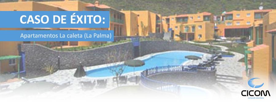 Solución WIFI Apartamentos La Caleta (La Palma)
