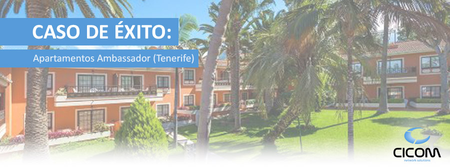 Solución WIFI Apartamentos Ambassador (Tenerife)