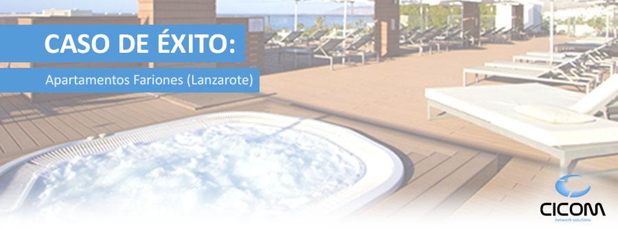 Solución WIFI Apartamentos Fariones (Lanzarote)