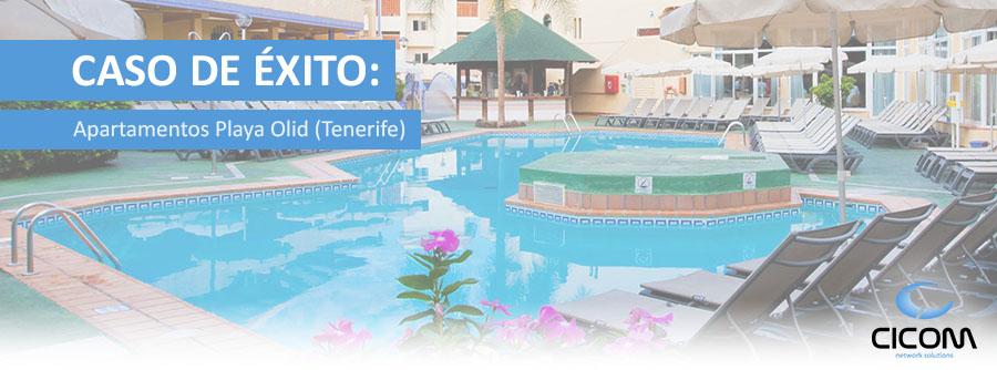 Solución WIFI Apartamentos Playa Olid (Tenerife)