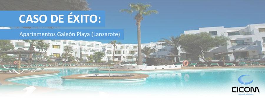 Solución WIFI Apartamentos Galeón Playa (Lanzarote)